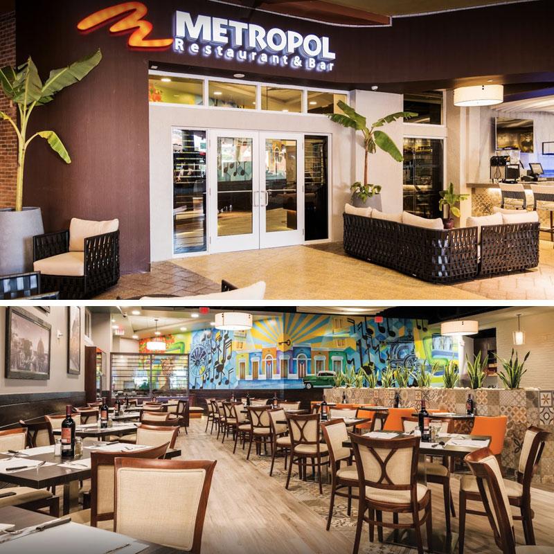 Metropol Restaurant: De Puerto Rico A Miami